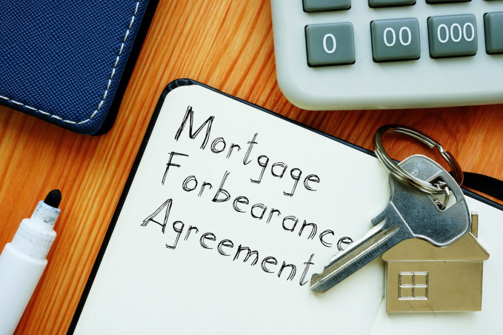 Mortgage forbearance plan